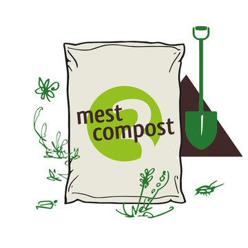 Biologische Organische Mestcompost