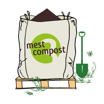 Biologische organische mestcompost - Big Bag